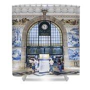 Dom Luis Bridge Porto Portugal Shower Curtain