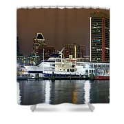 Downtown Baltimore Shower Curtain