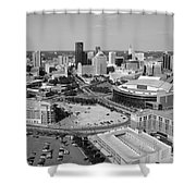 Downtown Skyline Of St. Paul Minnesota Shower Curtain