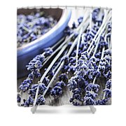 Dried Lavender Shower Curtain