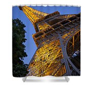 Eiffel Twilight Shower Curtain