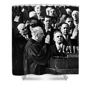 Eisenhower Inauguration Shower Curtain