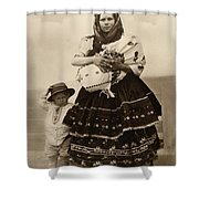 Ellis Island Women, C1910 Shower Curtain