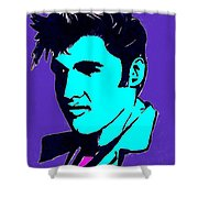 Elvis The King Shower Curtain