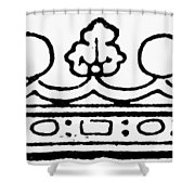 English Crown Shower Curtain
