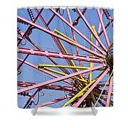 Evergreen State Fair Ferris Wheel Shower Curtain