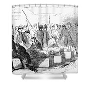 Execution Of Conspirators Shower Curtain