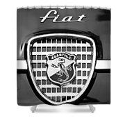 Fiat Emblem Shower Curtain