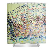 Five Wise Virgins Shower Curtain