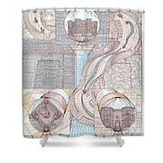 Fortune Of Castles Shower Curtain