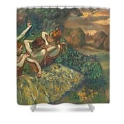 Four Dancers Shower Curtain