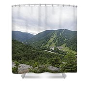 Franconia Notch State Park - White Mountains New Hampshire Usa Shower Curtain