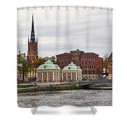 Gamla Stan. Stockholm 2014 Shower Curtain