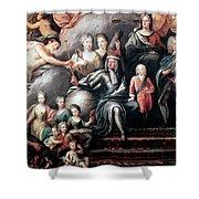 George I (1660-1727) Shower Curtain