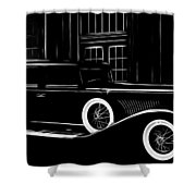 Golden Times Shower Curtain