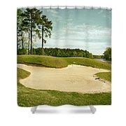 Grand National Golf Course - Opelika Alabama Shower Curtain