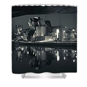 Guggenheim Museum Designed By Frank Shower Curtain