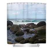 Hanakapi Ai Beach Shower Curtain