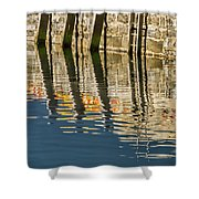 Harbour Reflections Shower Curtain