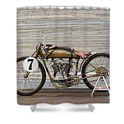 Harley-davidson Board Track Racer Shower Curtain