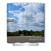 Heage Windmill Shower Curtain