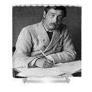 Herbert George Wells (1866-1946) Shower Curtain