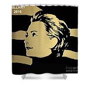 Hillary Clinton Gold Series Shower Curtain