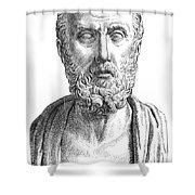 Hippocrates (c460-c377 B.c.) Shower Curtain