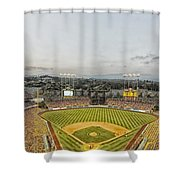 Home Of The Dodgers Shower Curtain