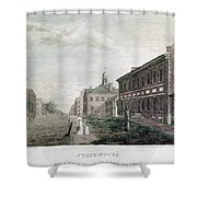 Independence Hall, 1798 Shower Curtain