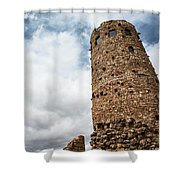 Indian Watchtower Grand Canyon Shower Curtain