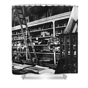 Interior The Old Store Pearce Mercantile Ghost Town Pearce Arizona 1971 Shower Curtain