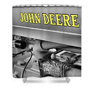 John Deere Shower Curtain by Dan Sproul