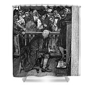 Jonathan Wild (c1682-1725) Shower Curtain