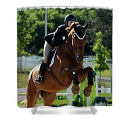 Jumper17 Shower Curtain