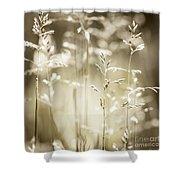 June Grass Flowering Shower Curtain