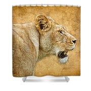 Jungle Cat Shower Curtain