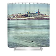 Kazan Kremlin Shower Curtain