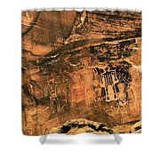 3 Kings Rock Art Shower Curtain