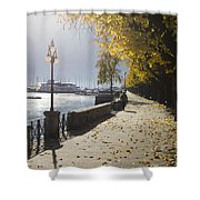 Lakefront Shower Curtain