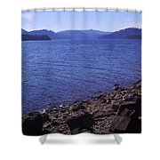Lakes 2 Shower Curtain
