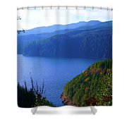 Lakes 6 Shower Curtain