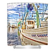 Last Chance - Hdr Shower Curtain