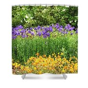 3-layered Garden Shower Curtain