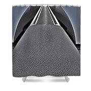 L'hemisferic - Valencia Shower Curtain