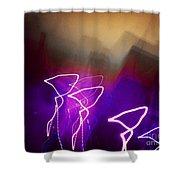 Light Fantastique Shower Curtain