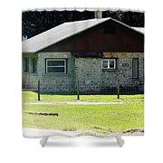 Limestone House Shower Curtain