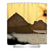 Linda Mar Beach - Northern California Shower Curtain