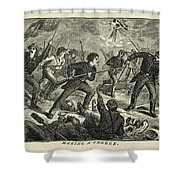 Loreta Janeta Velazquez (1842-1897) Shower Curtain