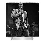 Singer Luther Vandross Shower Curtain